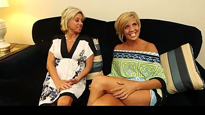 Payton Hall and Simone mature milf..