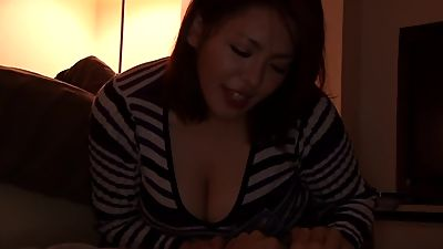 Cheating busty asian fucks lover while..