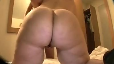 Huge Boobs Mature BBW-With Juicy Guy..