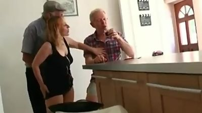 Two Grandpa Fuck young girl
