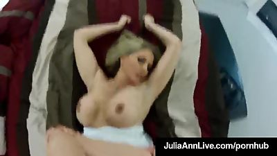 Milf Sex Queen Julia Ann Fucks Her..