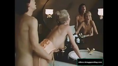 Classic Stepmother and Son Fucking in..