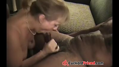 Mature Couple share His Wife with BBCs