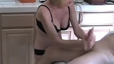Handjob From My Horny Grandma