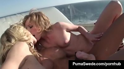 Euro Queen Puma Swede Strap On Bangs 2..