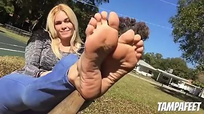 MILF With Incredible Soles