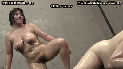 ASIAN OIL WERESTLING 1