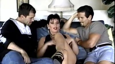 sexy milf and two guys