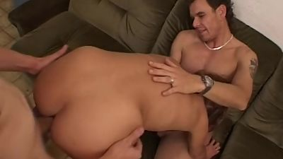 Skinny Mature Has Pierced Pussy..