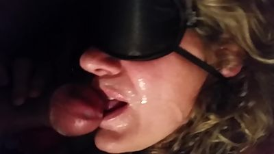 My mature wife sucking friend off..