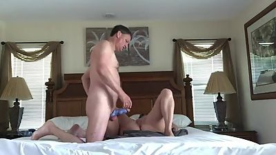 Amateur wife fucks husbands friend and..