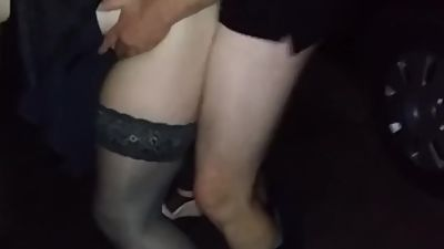 Hubby watches his wife suck cocks and..