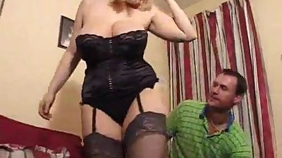 Big Tits Mature UK Blonde Does Anal