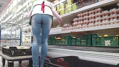 Hungarian shop worker mature perfect..