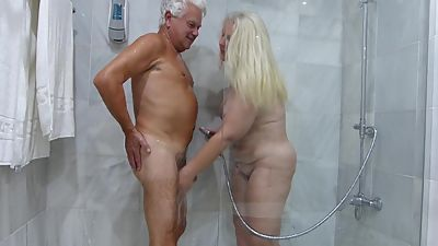 Silver Stallion and Mel Shower Time