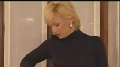 Name of Russian Blonde MILF Mature..