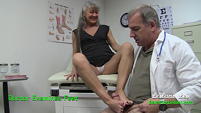 Doctor Examines Feet Trailer