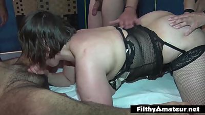 Anal sex for the wifes! Fucking hard 2..