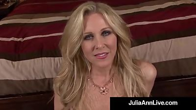 Dirty Talking Milf Julia Ann Sucks..