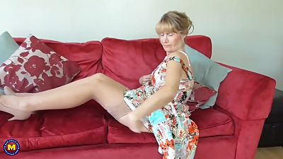 Mature British housewife Jane with..