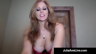 Elegant Blonde Milf Julia Ann Gets A..