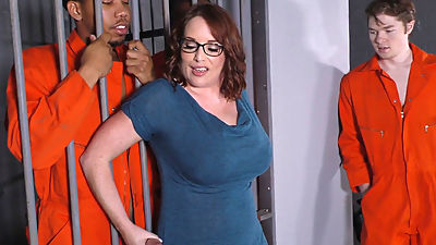 Busty Mom Maggie Green Takes Two BBCs..