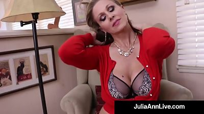 Busty Milf Julia Ann Bangs Her Hot..