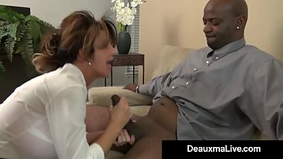 Milf Manager Deauxma Gets An..