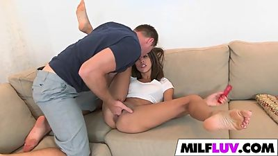 Super booty MILF gets drilled