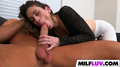 Huge cock surprise for MILF Jordyn Eve