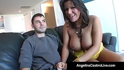 Cuban BJ Queen Angelina Castro Gets A..