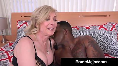 Rome Major Rams Blonde Milf Nina..