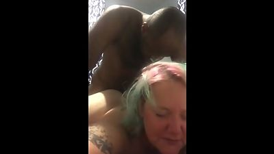 White BBW MILF Interracial 3