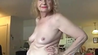 Granny show off Pussy p1. P2 at..