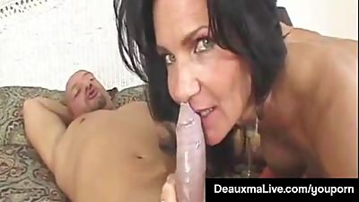 Texas Cougar Deauxma Takes A Big Dick..